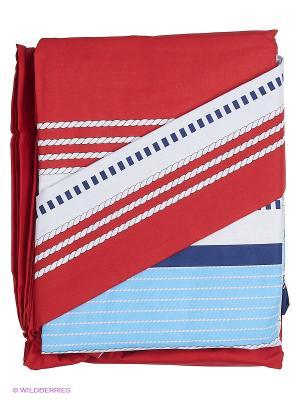 Комплект постельного белья Ozdilek. Цвет: красный, белый, голубой, фиолетовый