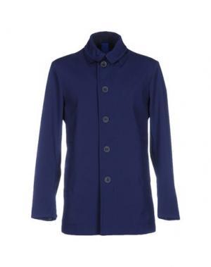 Легкое пальто GEOSPIRIT. Цвет: синий