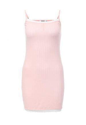 Сорочка ночная Deseo. Цвет: розовый