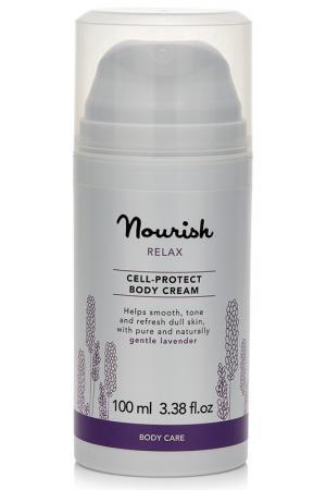 Успокаивающий крем для тела NOURISH. Цвет: none