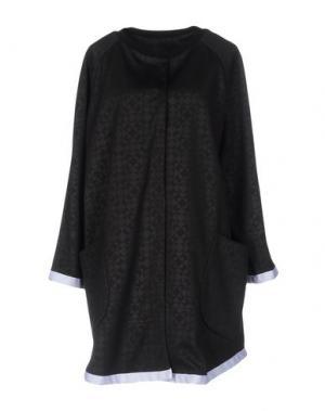 Легкое пальто GUTTHA. Цвет: черный