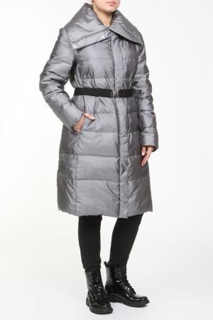 Пальто Frankie Morello. Цвет: серебряный