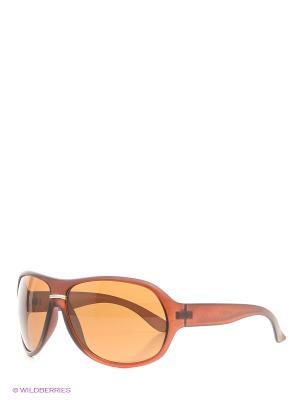 Солнцезащитные очки Vittorio Richi. Цвет: терракотовый, бронзовый, оранжевый