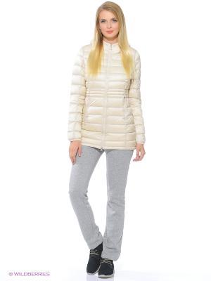 Куртка ANTA. Цвет: бежевый