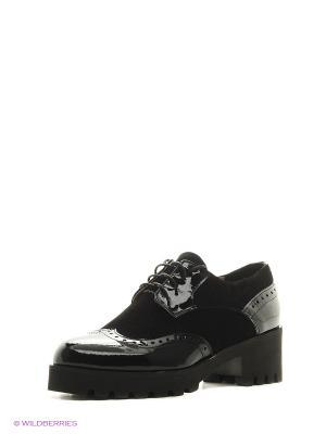 Туфли ESTELLA. Цвет: черный