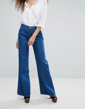 MiH Jeans Расклешенные джинсы. Цвет: синий