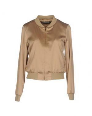 Куртка WEILI ZHENG. Цвет: верблюжий
