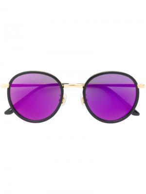 Солнцезащитные очки Future Is Past Gentle Monster. Цвет: чёрный