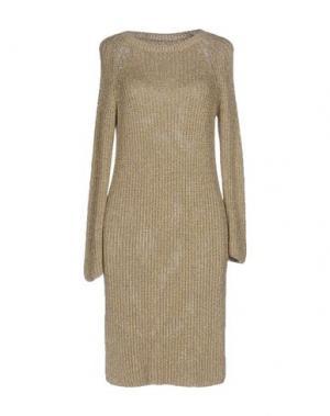 Короткое платье SOUVENIR. Цвет: золотистый