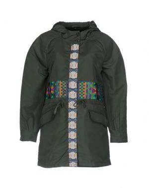 Куртка CUSTO BARCELONA. Цвет: зеленый-милитари