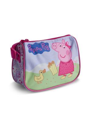 Сумочка Свинка Пеппа Утка Peppa Pig. Цвет: сиреневый, зеленый, розовый