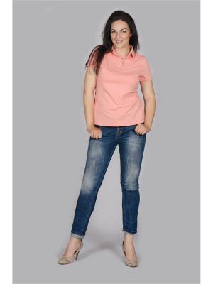Блузка Лагуна. Цвет: персиковый