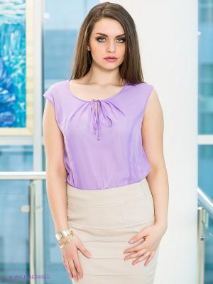 Блузка LE MONIQUE. Цвет: сиреневый
