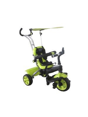 Велосипед детский, 3х-колесный с тентом, светло-зеленый(MT-BCL0815005) Pit Stop. Цвет: светло-зеленый
