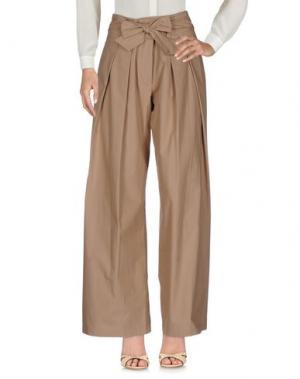 Повседневные брюки SEA. Цвет: песочный