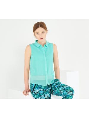 Блузка Reserved. Цвет: светло-зеленый
