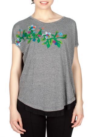 T-shirt MAMATAYOE. Цвет: gray