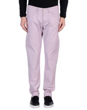 Повседневные брюки SIVIGLIA. Цвет: розовато-лиловый