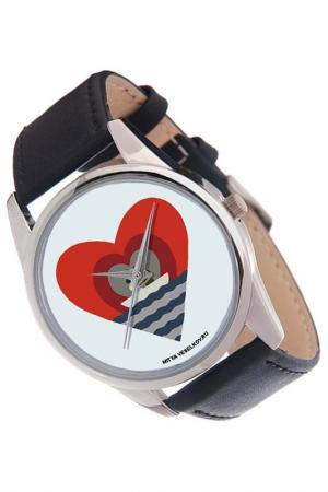 Часы Лодка любви MITYA VESELKOV. Цвет: красный