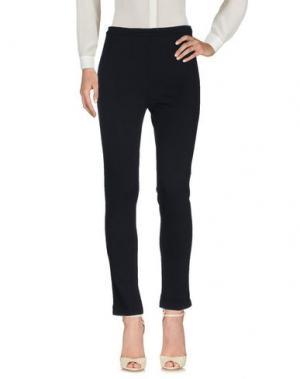Повседневные брюки EMME by MARELLA. Цвет: темно-синий