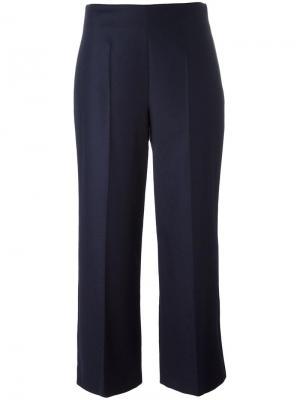 Укороченные брюки Harmony Paris. Цвет: синий