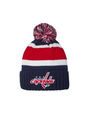 Шапка NHL Capitals Atributika & Club. Цвет: синий, белый, красный