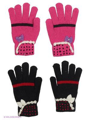 Перчатки FOMAS. Цвет: черный, фиолетовый, красный, фуксия