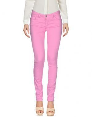 Повседневные брюки KITTE. Цвет: розовый