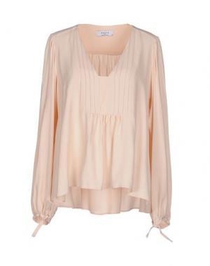 Блузка AXARA PARIS. Цвет: телесный
