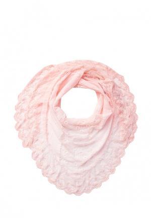 Платок Le Motif Couture. Цвет: розовый