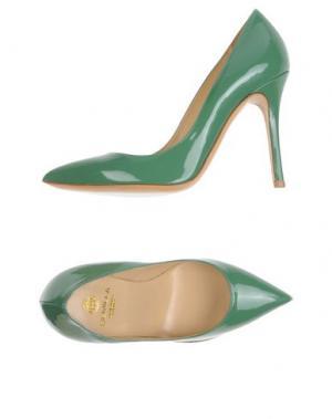 Туфли SEMILLA. Цвет: светло-зеленый