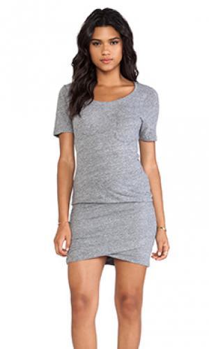 Платье granite MONROW. Цвет: серый