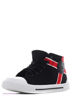 Ботинки школьные EcoTex Zebra. Цвет: черный