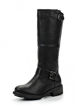 Сапоги Retro Shoes. Цвет: черный
