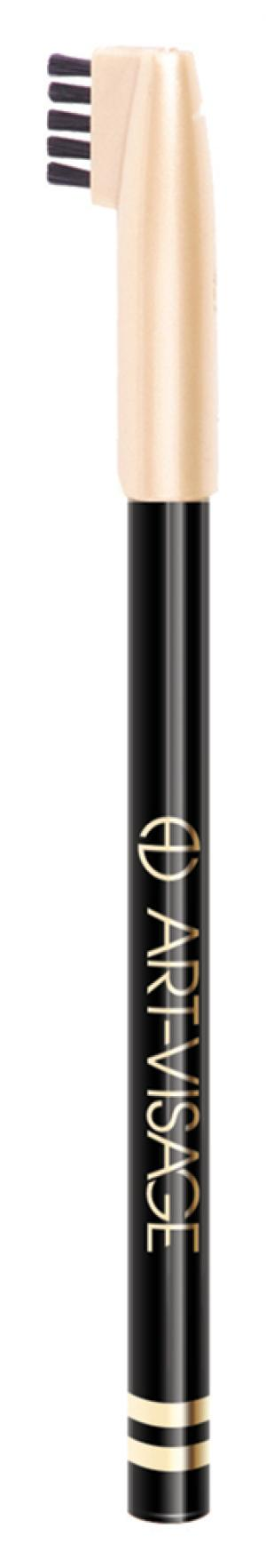 Карандаш для бровей Art-Visage 401 Черный. Цвет: 401 черный