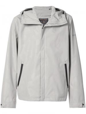 Спортивная куртка с капюшоном Woolrich. Цвет: серый
