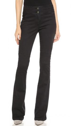 Расклешенные брюки Veronica Beard. Цвет: голубой