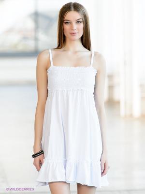 Сарафан Baon. Цвет: белый