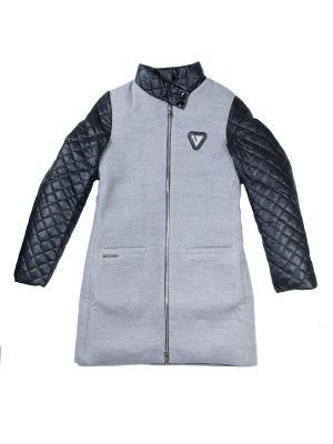 Пальто babyAngel. Цвет: серый