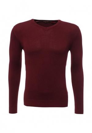 Пуловер Y.Two. Цвет: бордовый