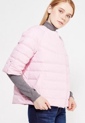 Куртка утепленная ISTOK IST'OK. Цвет: розовый