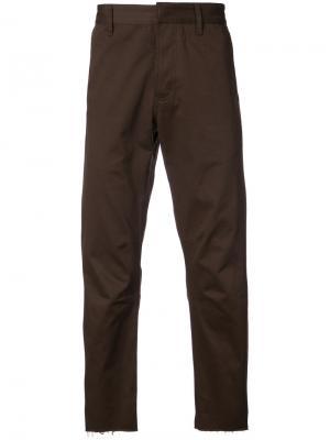Укороченные брюки Siki Im. Цвет: коричневый