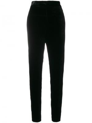 Укороченные брюки с высокой талией Francesco Paolo Salerno. Цвет: чёрный