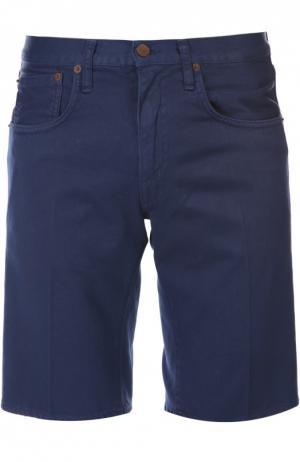 Джинсовые шорты с блокнотом (+)People. Цвет: синий