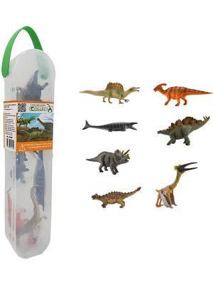 Набор мини динозавров (коллекция 1) Gulliver. Цвет: белый
