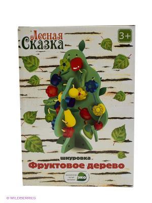 Развивающая игрушка Шнуровка VELD-CO. Цвет: зеленый
