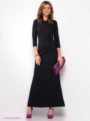 Платье Анна Чапман. Цвет: черный