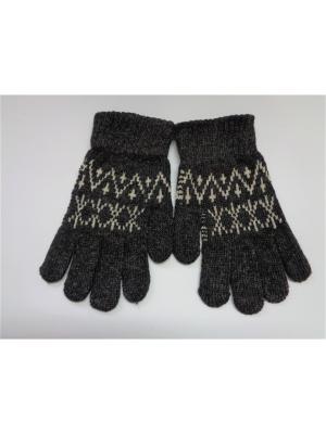 Перчатки Cascatto. Цвет: серый