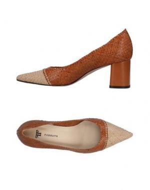 Туфли FARRUTX. Цвет: коричневый