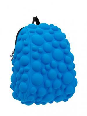 Рюкзак Bubble Half, цвет NEON голубой MadPax. Цвет: голубой
